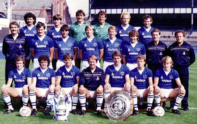 Engelska Ligan 1984 85 Division